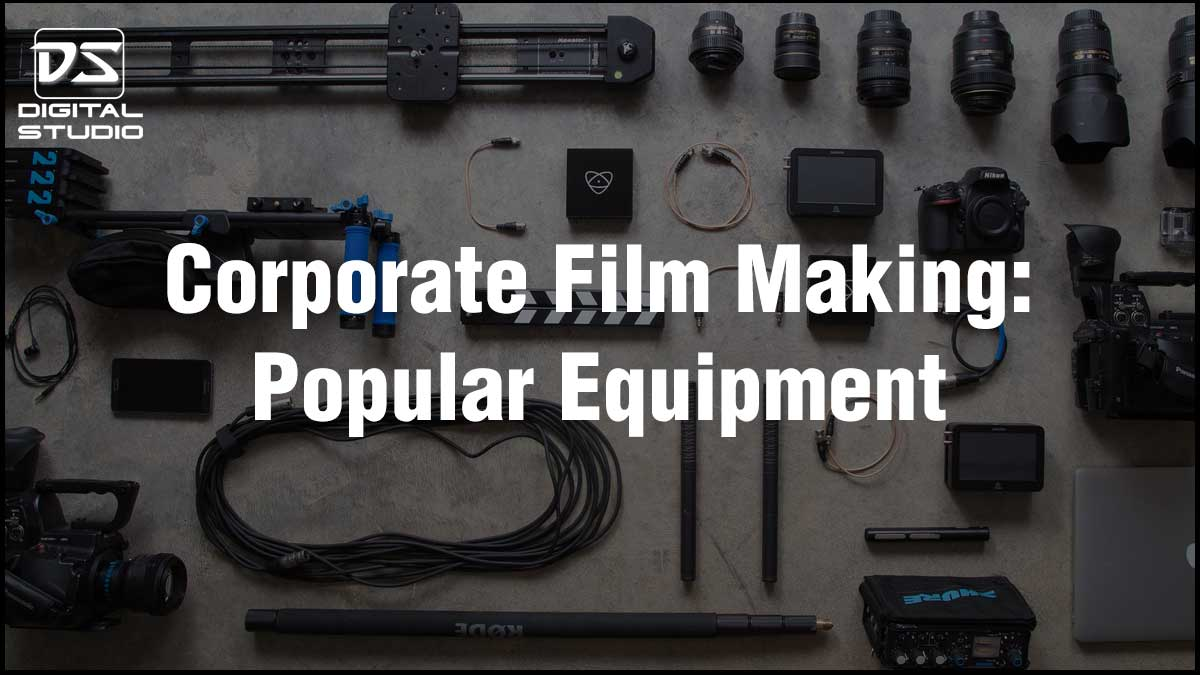 Corporate film making equipment