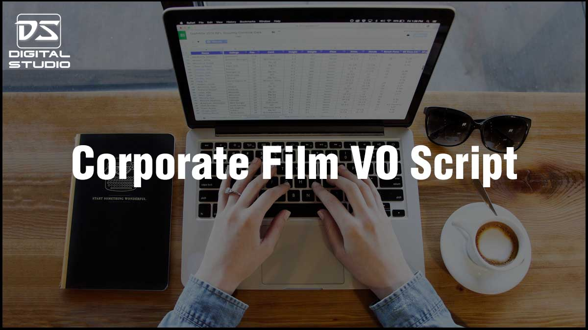 VO script of Corporate video