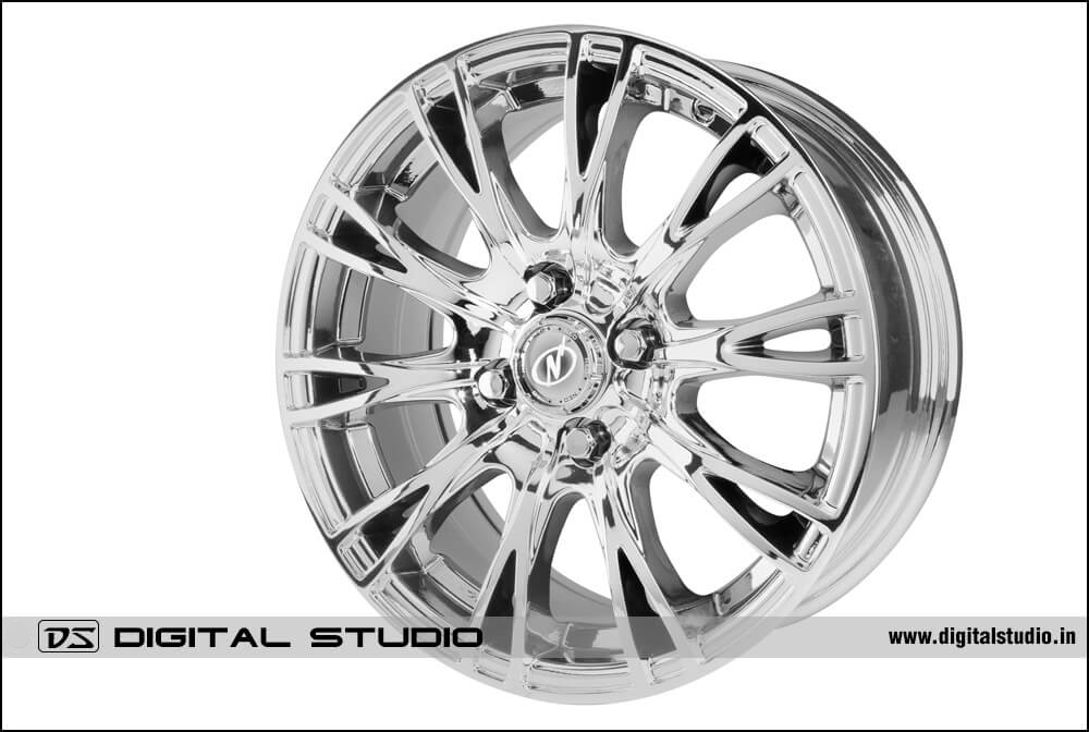 Alloy wheel Photograph