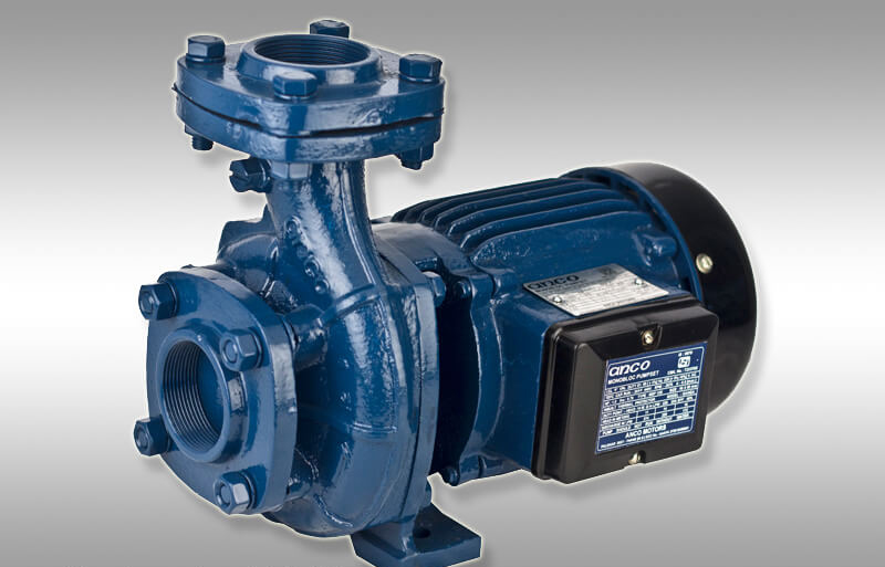 single large water pump