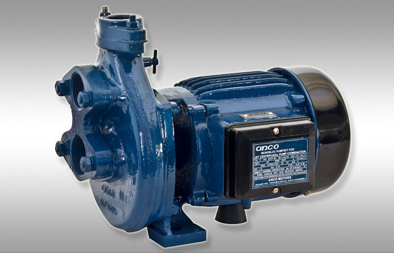 water pump with blue colour