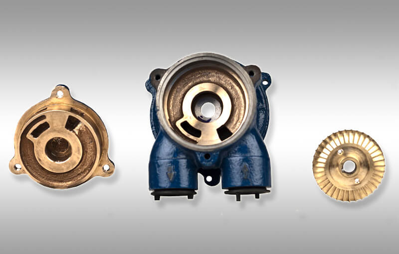 industrial water pump parts