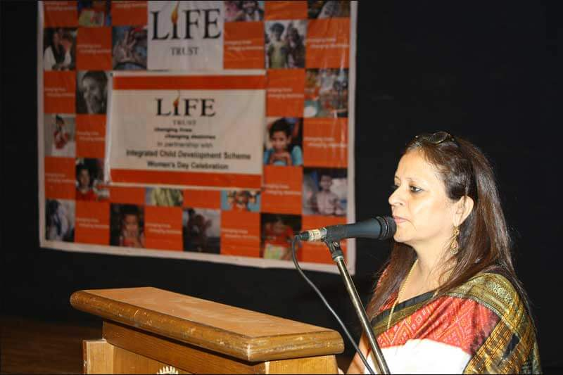 Executive speech at an event