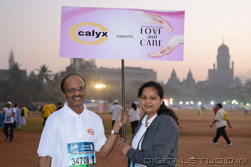 Mumbai Marathon Photography for calyx