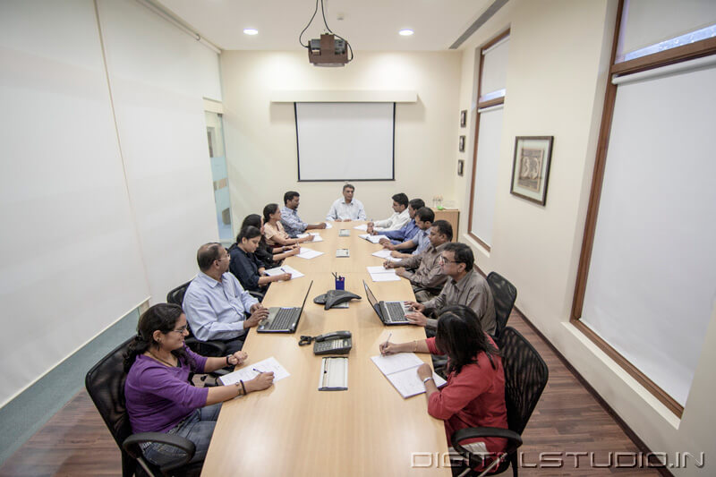 Conference room with people photograph