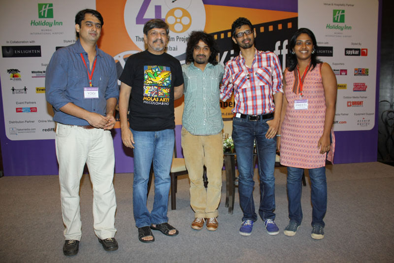 Group Photograph of Yogi Chopra and Preeti at 48HFP in Mumbai