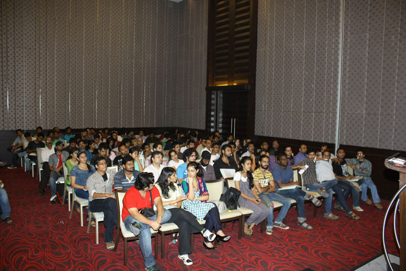 Audience at 48HFP event in Mumbai