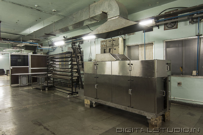 Photography of  food processing  Plant