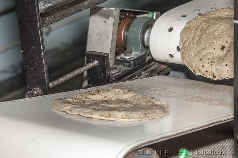 Photography of  chapati Making Factory