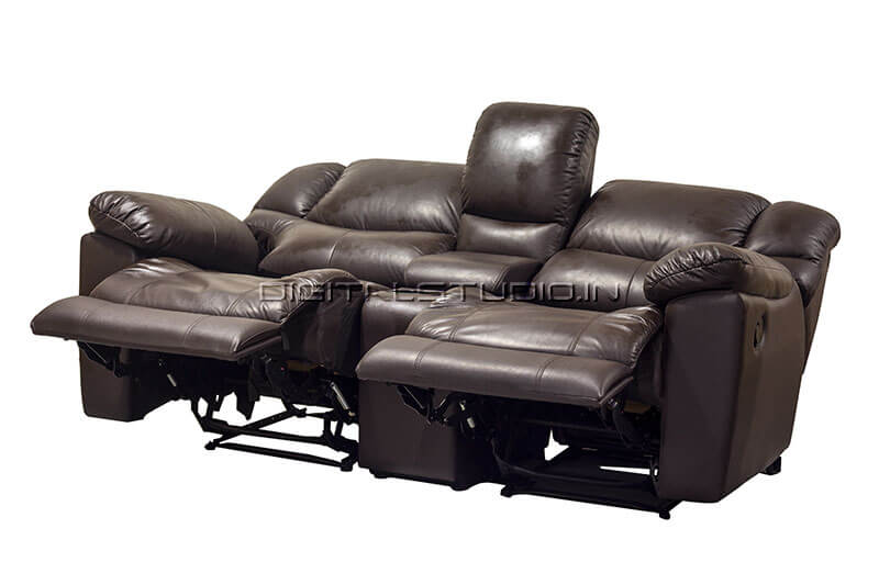 Black reclining chairs