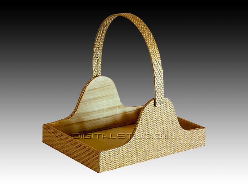Wooden hamper for gifting