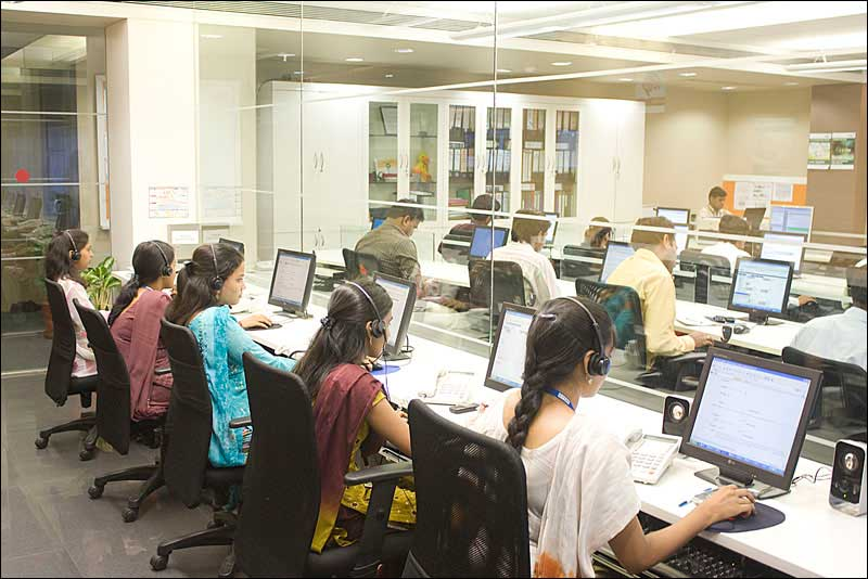 Backend call centre