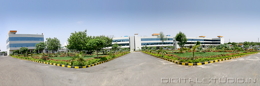 pharma plant panorama photograph
