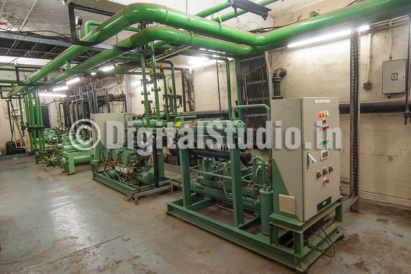 Compressors for industrial units
