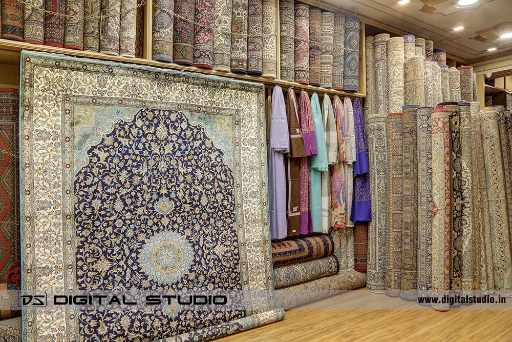 Silk Oriental Carpets & Rugs Showroom in Mumbai