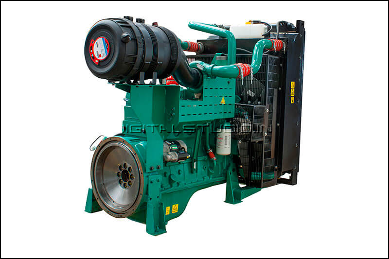 industrial genset photograph