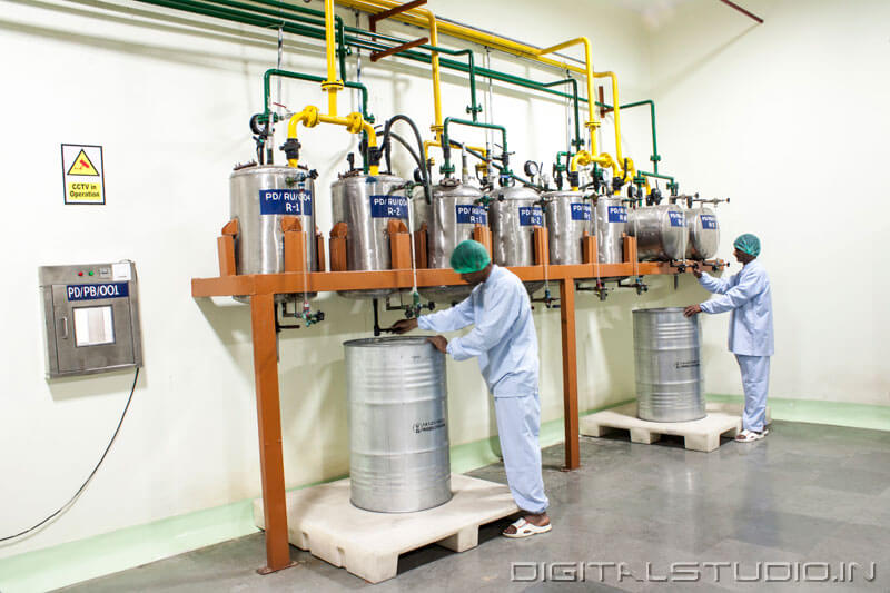 Photograph of  Menthol Processing Factory