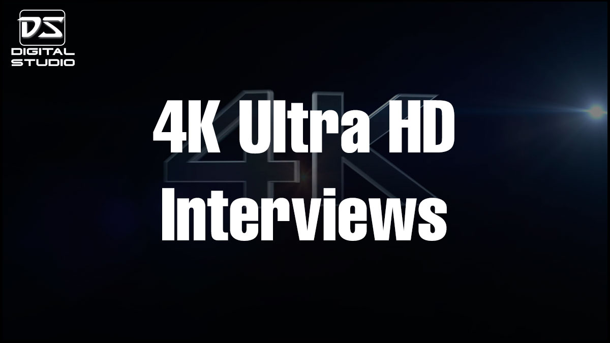 4K Corporate interview