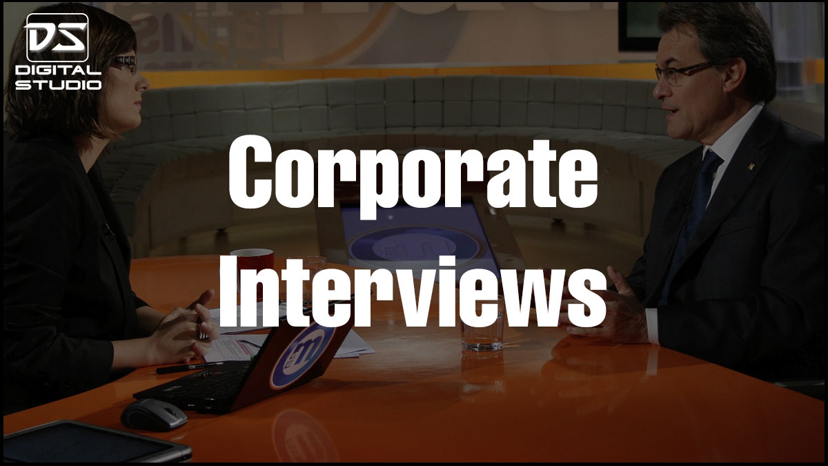 Full HD Corporate interview