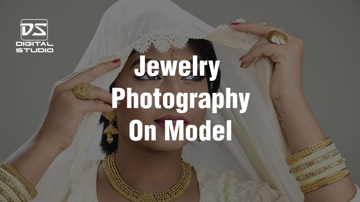 Jewellery photography with Model
