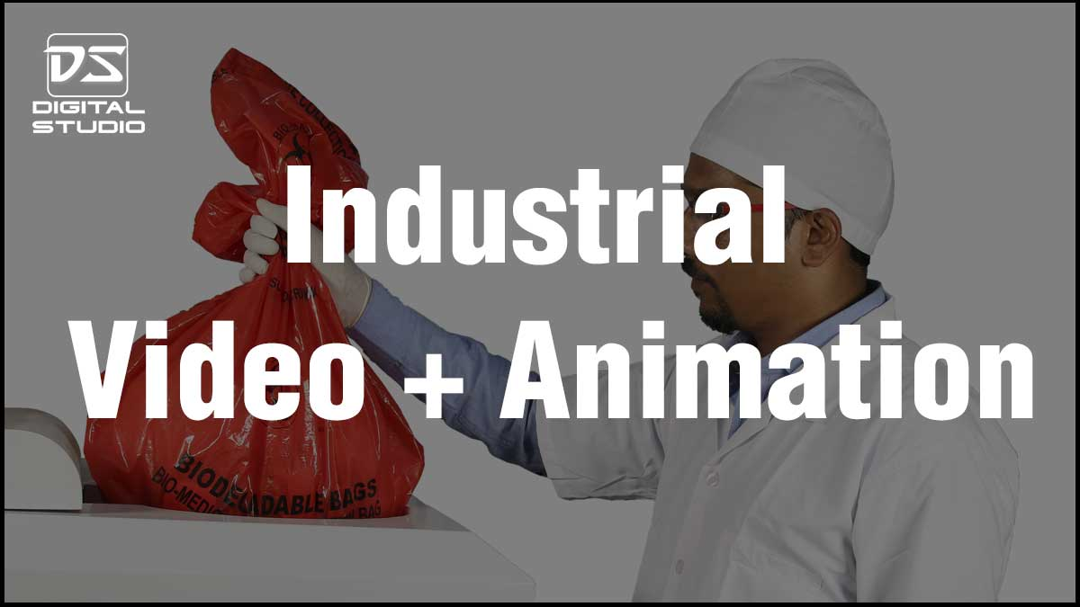 Industrial video with animation