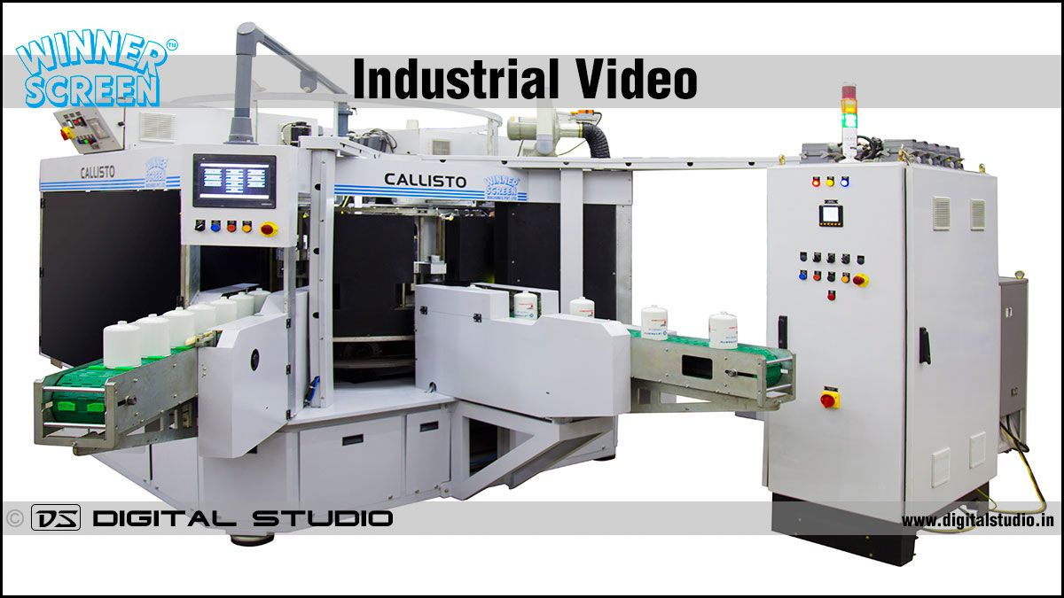 Industrial machine HD Video
