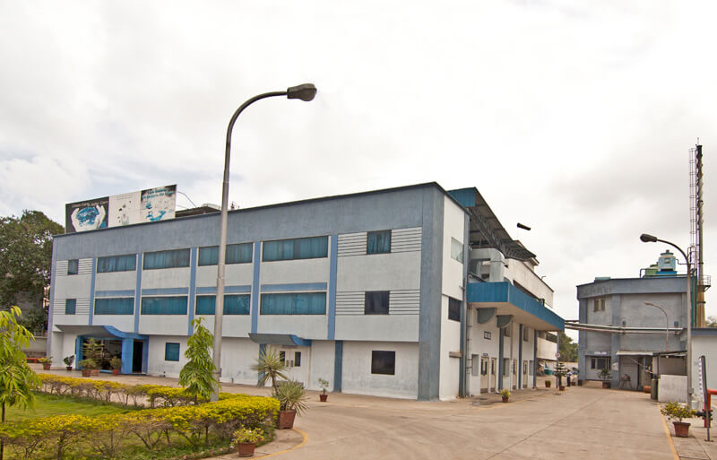 Exterior of a pharma plant in Tarapur