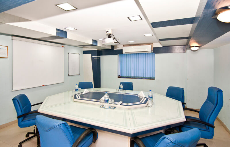 Meeting room in a pharma plant