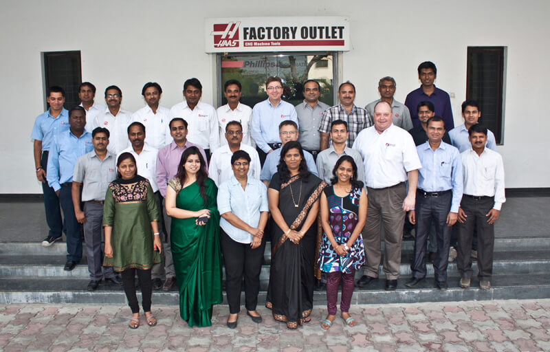 Group Photograph of office executives