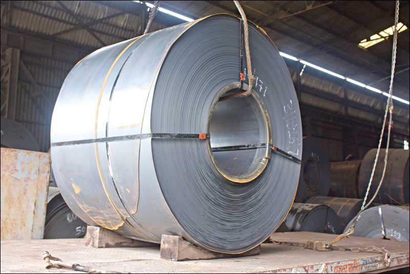 Steel sheet cutting plant at Taloja
