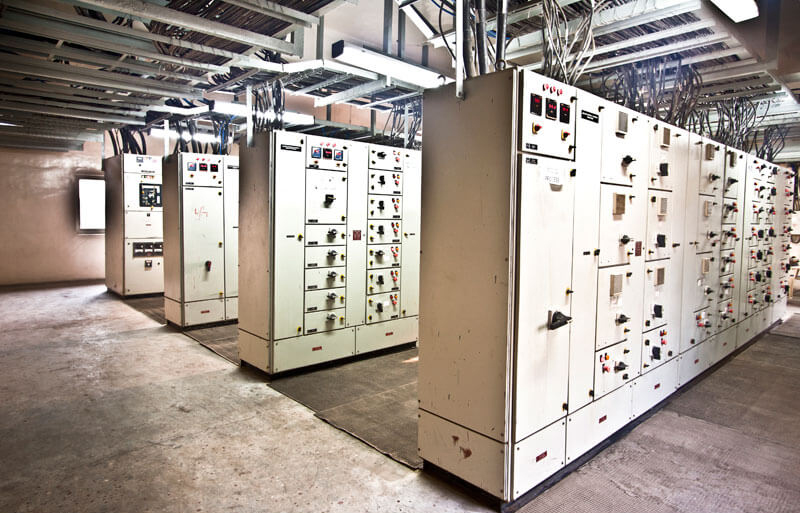 Control Panels of Pharma plant