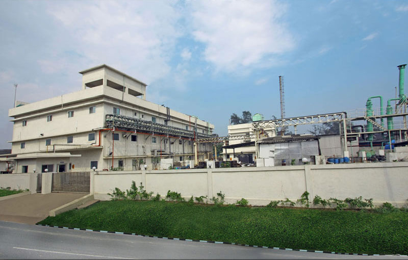 Exterior of a pharma plant in Vapi