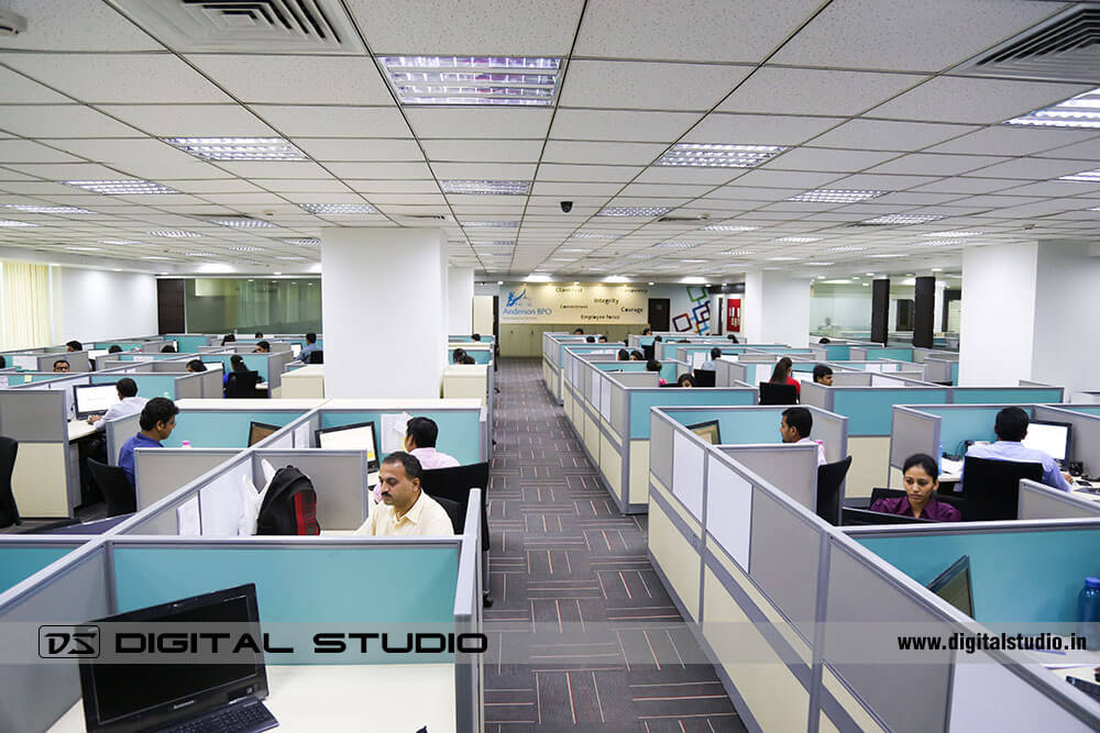 Corporate office of Anderson BPO international - Mumbai