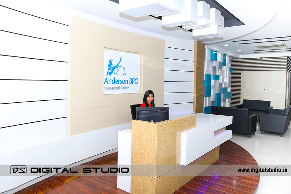 Reception Desk of Anderson BPO