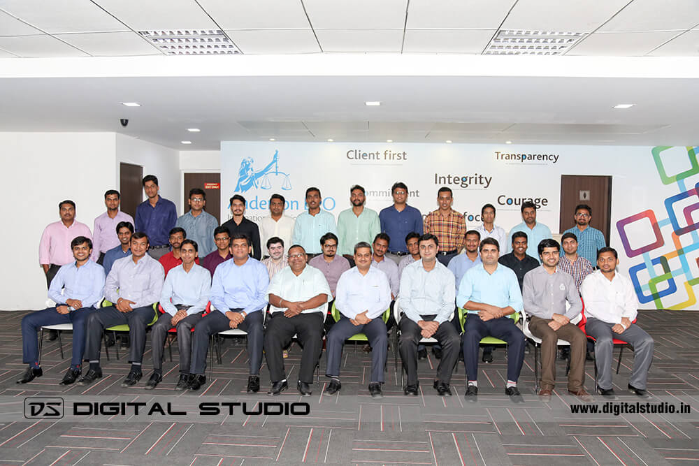 Gents executives group photograph