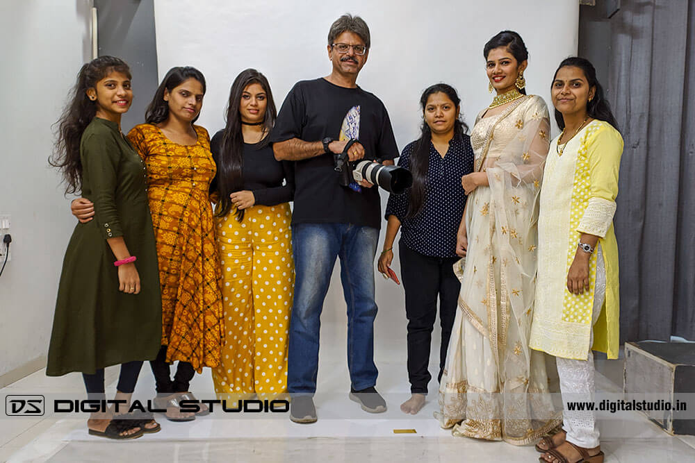 Post shoot - Group photograph