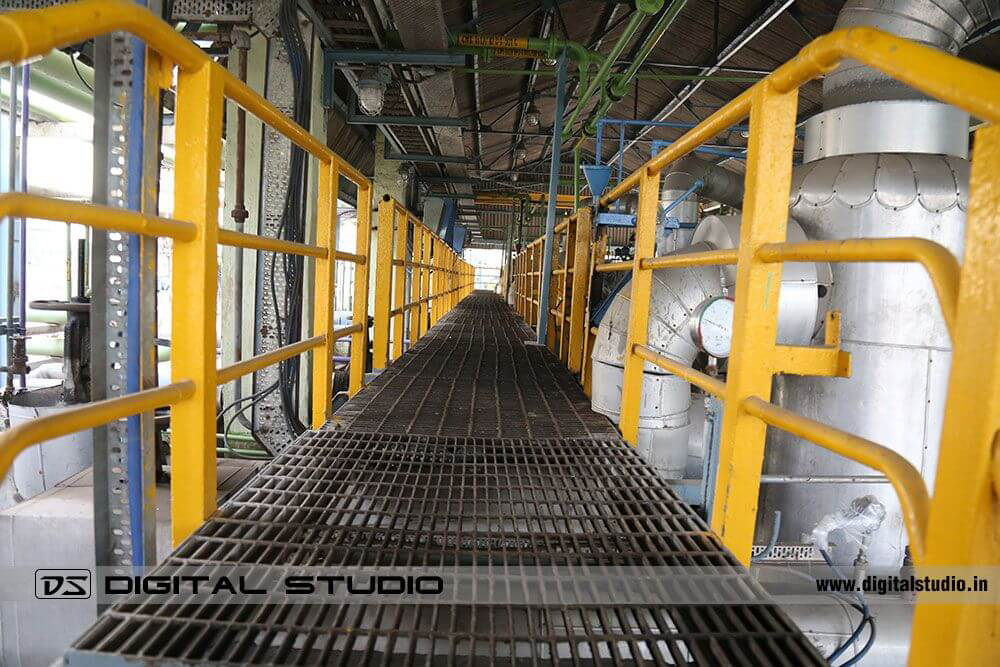 Gangway at Deepak Fertiliser Taloja plant