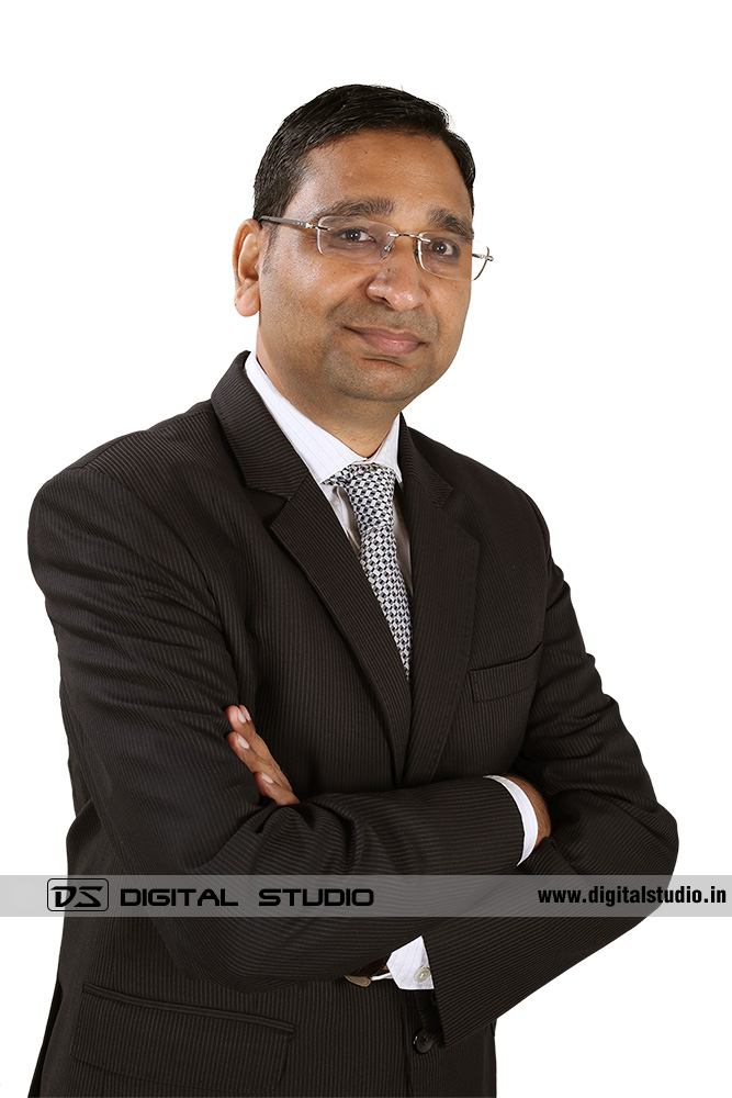 In Studio shoot of corporate executive