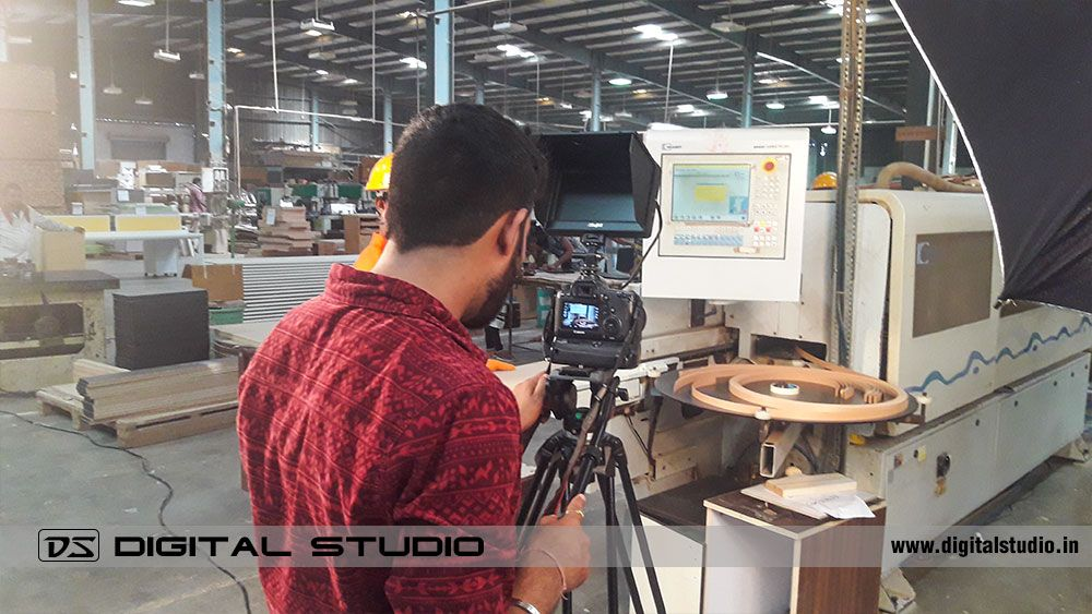 Industrial video shooting with Canon 6D