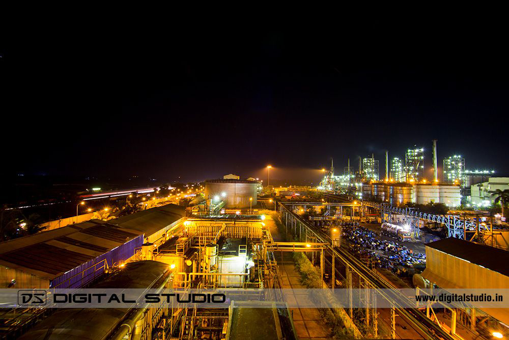 Night Photograph of Himadri plant