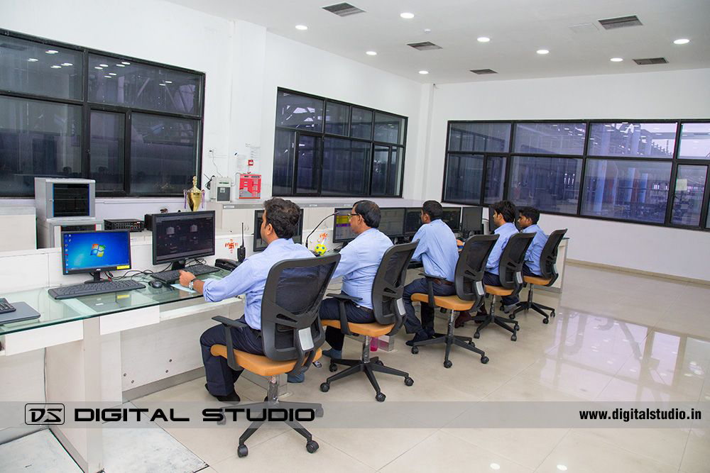 Control room of Himadri Speciality Chemical
