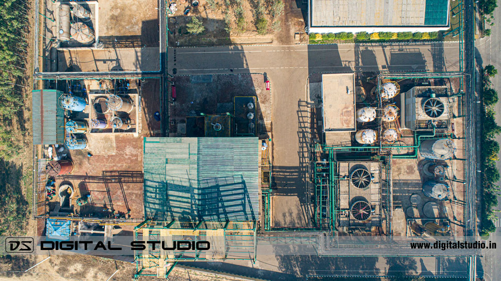 Drone shot - Chemical Plant