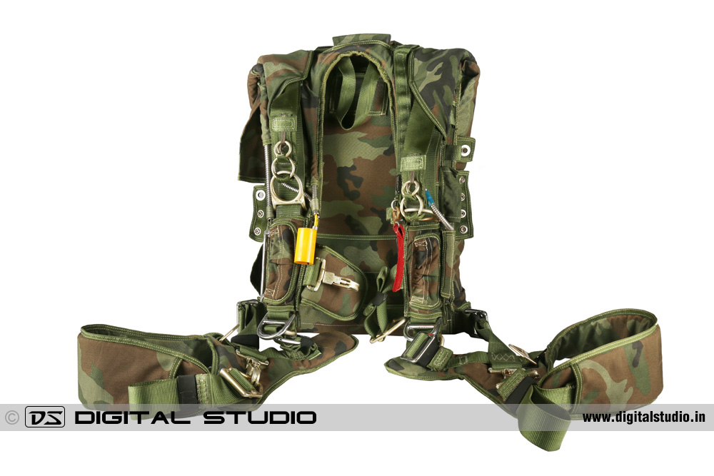 Army parachute backpack