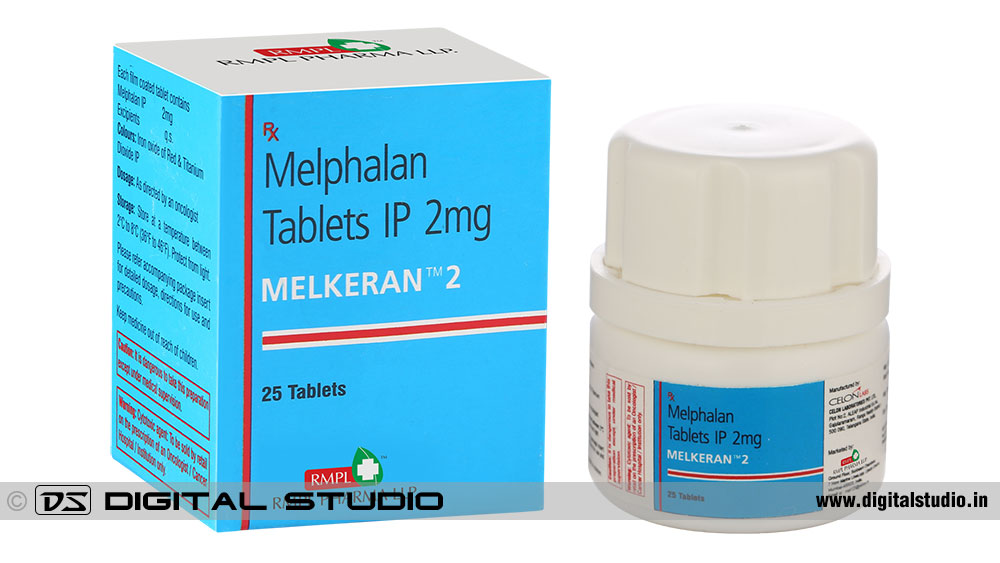 tablets with pack box