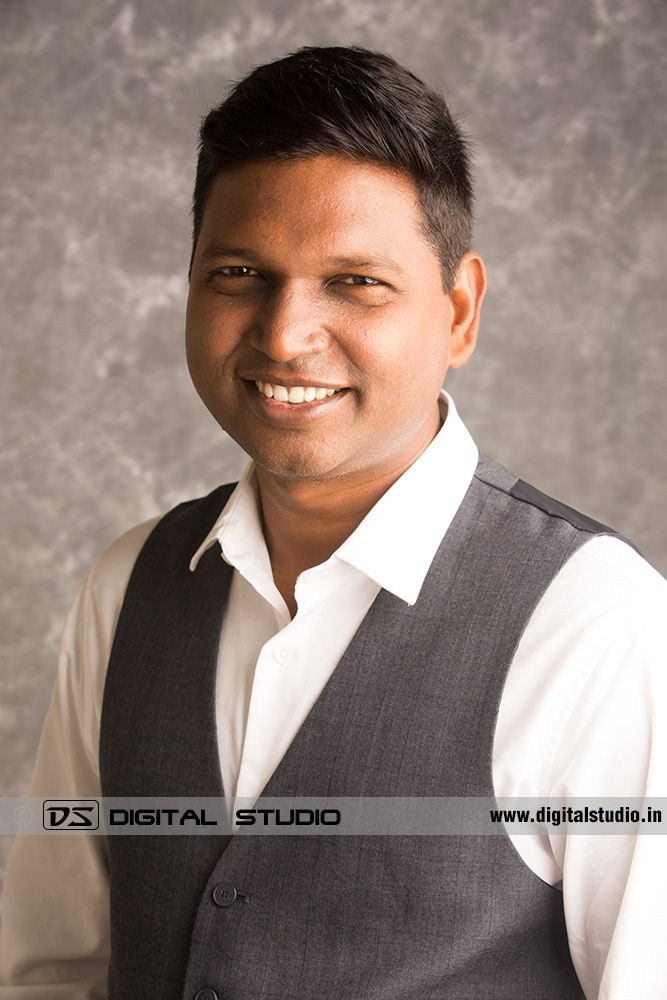 Typical corporate head shot
