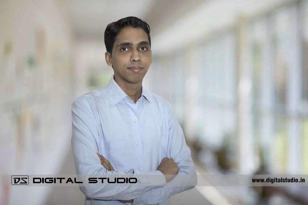 Corporate HeadShot in white shirt