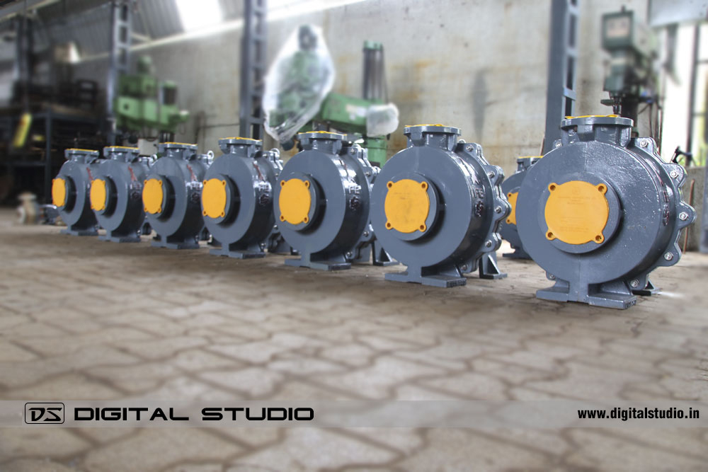 PVDF Pumps Lineup at Valsad Factory