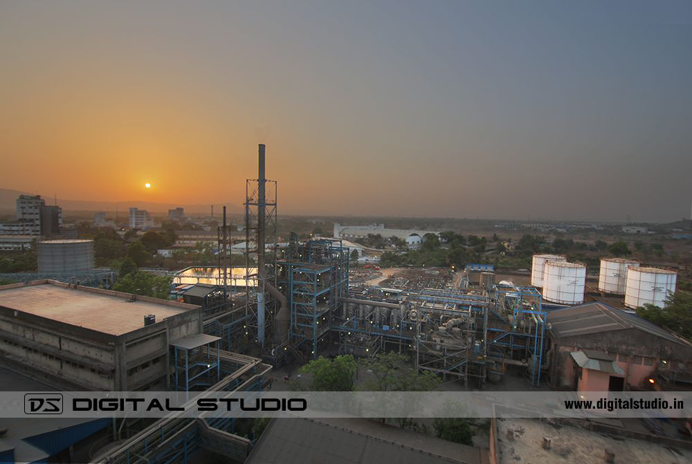 Industrial HDR photograph