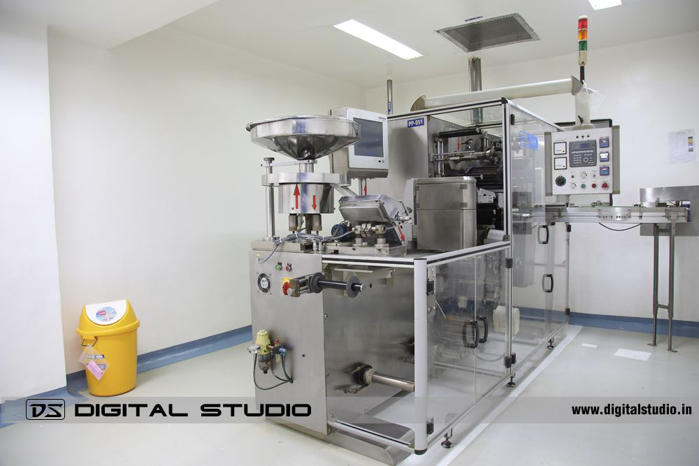 Pharma Machines and Equipment Photography at Vapi