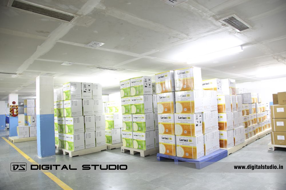 Pharma Warehouse Photography at Vapi